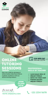 Online Course Roll up banner template