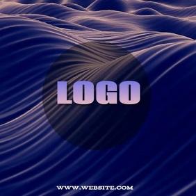 ONLINE DIGITAL LOGO TEMPLATE Persegi (1:1)