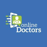 Online Doctors Logo template
