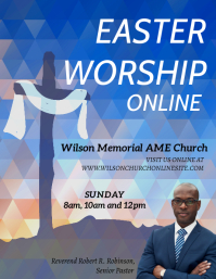 online easter church worship service