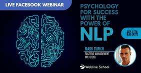 Online facebook live webinar for brain template