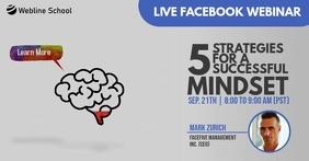 Online facebook live webinar for brain