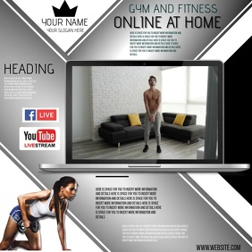 ONLINE FITNESS AND TRAINING AD