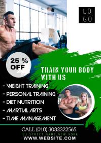 Online Fitness Flyer for Instagram