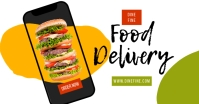 online food ads Facebook Shared Image template