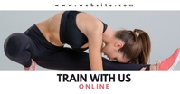 online gym and fitness facebook advertisement