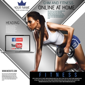 ONLINE GYM FITNESS AND TRAINING AD