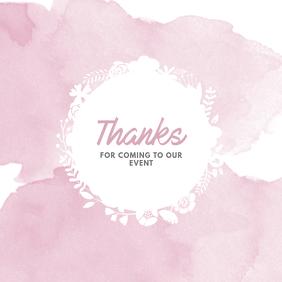 Online Instagram Greeting card template