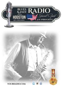 Online Jazz Radio Poster