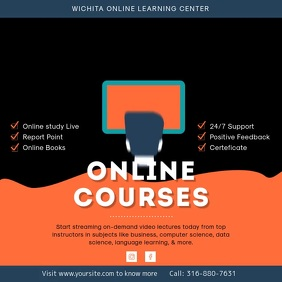 Online Learning Center Video Courses Offer Ad