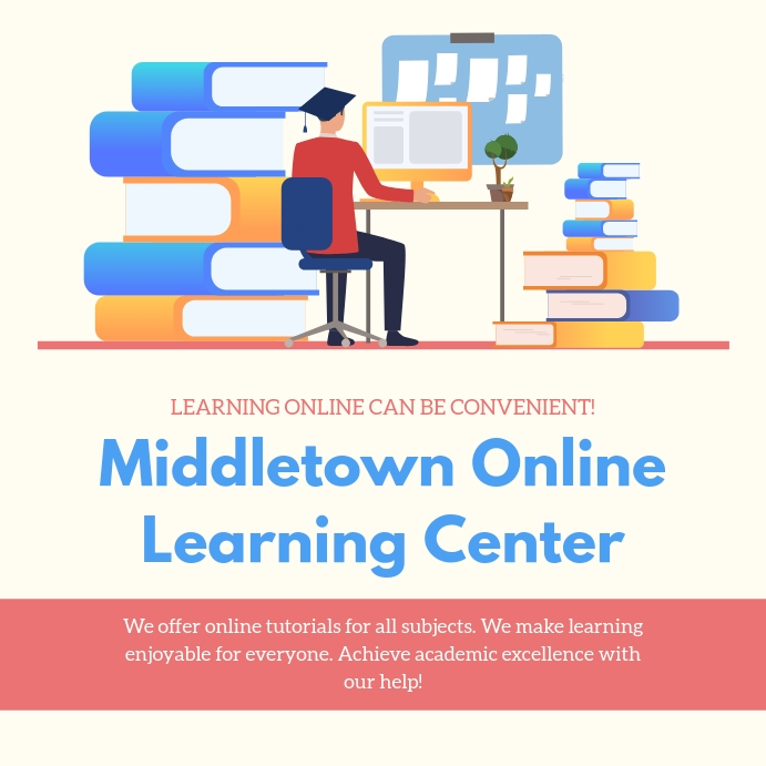 Online Learning Tuition Advert