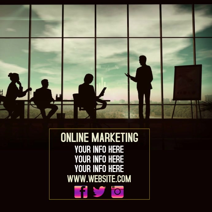 ONLINE MARKETING AD SOCIAL MEDIA DIGITAL