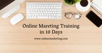 Online Marketing Advert Header Banner Table Facebook Advertensie template