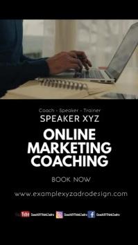 Online Marketing coaching workshop leadership Instagram 故事 template