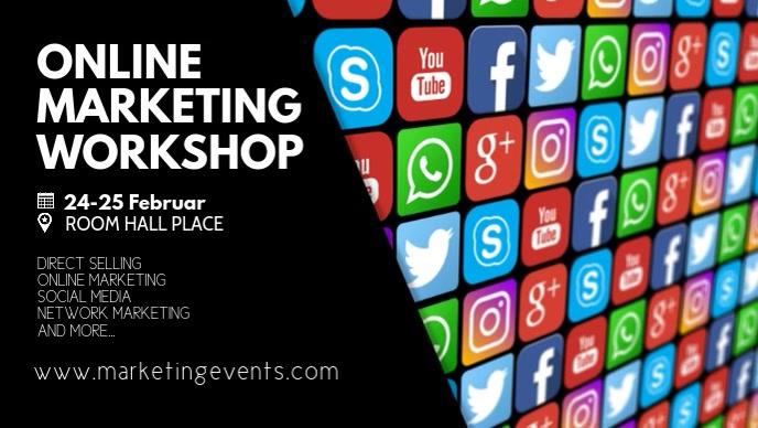 Online Marketing Social Media Network Sales