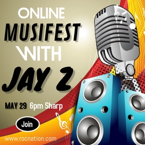 Online music festival with Jay Z