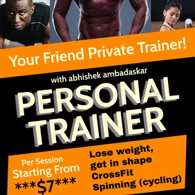 Online Personal Trainer Template