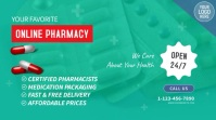 Online Pharmacy Video Ad Digitale Vertoning (16:9) template