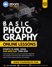 Online Photography Lessons Flyer