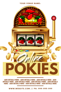 Online Pokies Poster