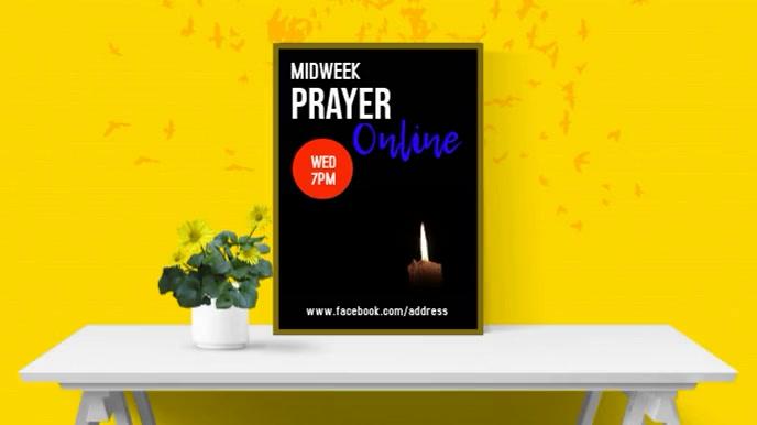 Online Prayer 数字显示屏 (16:9) template