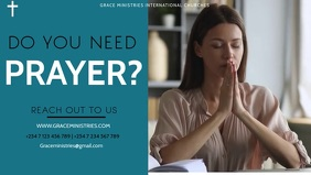 ONLINE PRAYERS TEMPLATE Facebook-omslagvideo (16:9)