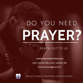 ONLINE PRAYERS TEMPLATE