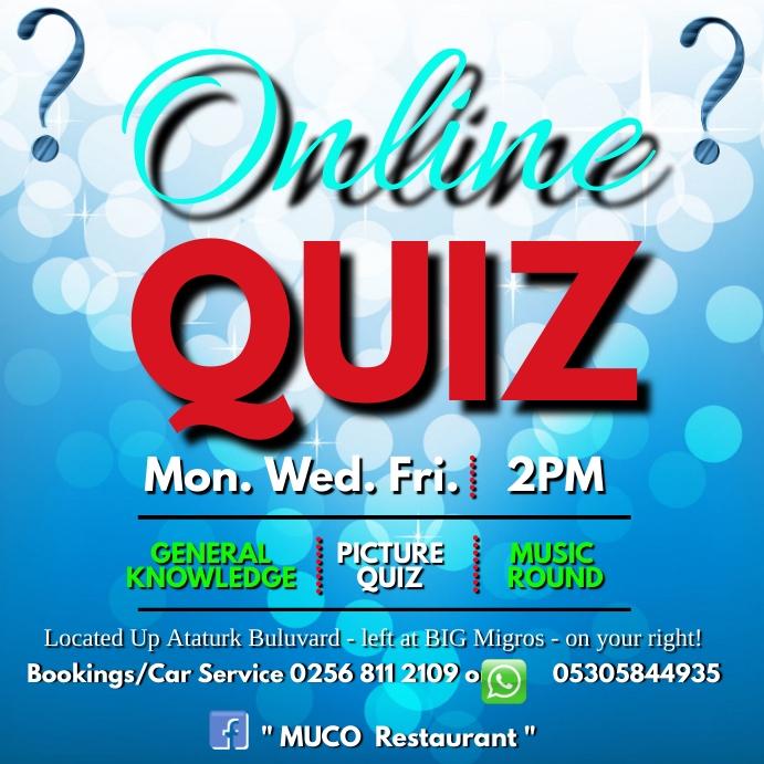 Online Quiz Kwadrat (1:1) template