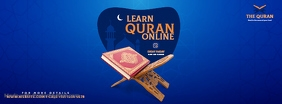 Online QURAN Learning Facebook Cover Image template