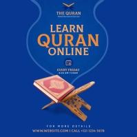 Online QURAN Learning Instagram Post
