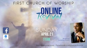 ONLINE Revival Event Display video template