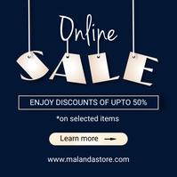 Online sale Instagram Post template