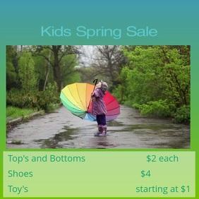 Online Sales Flyer