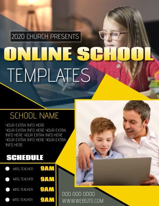 ONLINE SCHOOL LEARNER LEARNING TEMPLATE
