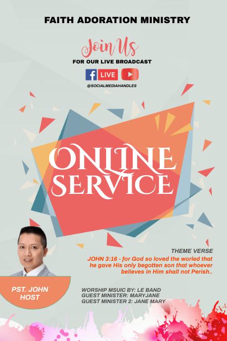 ONLINE SERVICE - JOHN 3:16