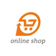 online shop cart Logo template