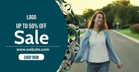 Online shopping ad template
