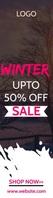 Online Shopping Ad Bred skyskraber template