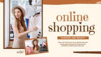 Online Shopping Templates En-tête de blog