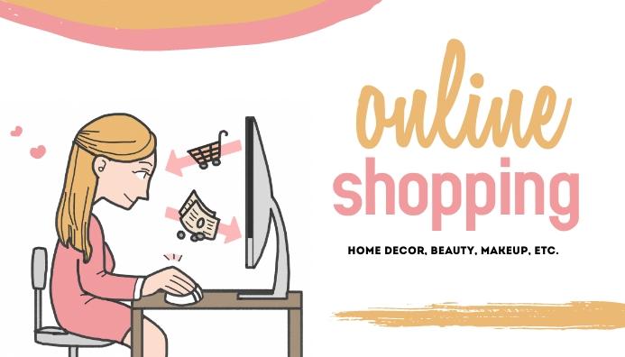 Online Shopping Templates Header Blog