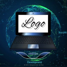 online store digital logo laptop pc