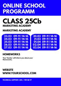 Online Teaching School Programm Information