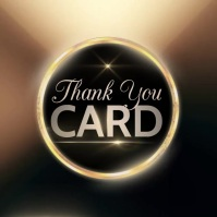 ONLINE THANK YOU CARD DESIGN TEMPLATE Instagram Post