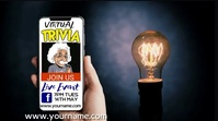 Online Trivia Quiz Night Video Template Tampilan Digital (16:9)