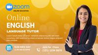 online tutor zoom class blog header post ส่วนหัวบล็อก template