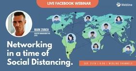 Online Webinar Facebook Live World Map video