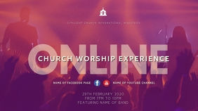 ONLINE WORSHIP EXPERIENCE