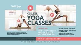 Online Yoga Classes Twitter Post