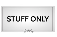 Only stuff โปสเตอร์ template