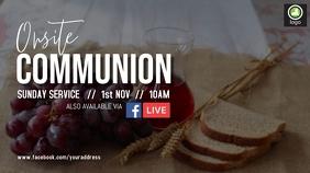 Onsite Communion Service Digital Display (16:9) template